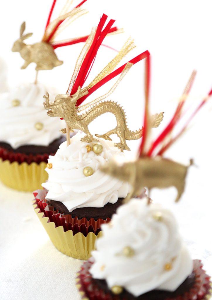 DIY Chinese New Year Cupcake Picks