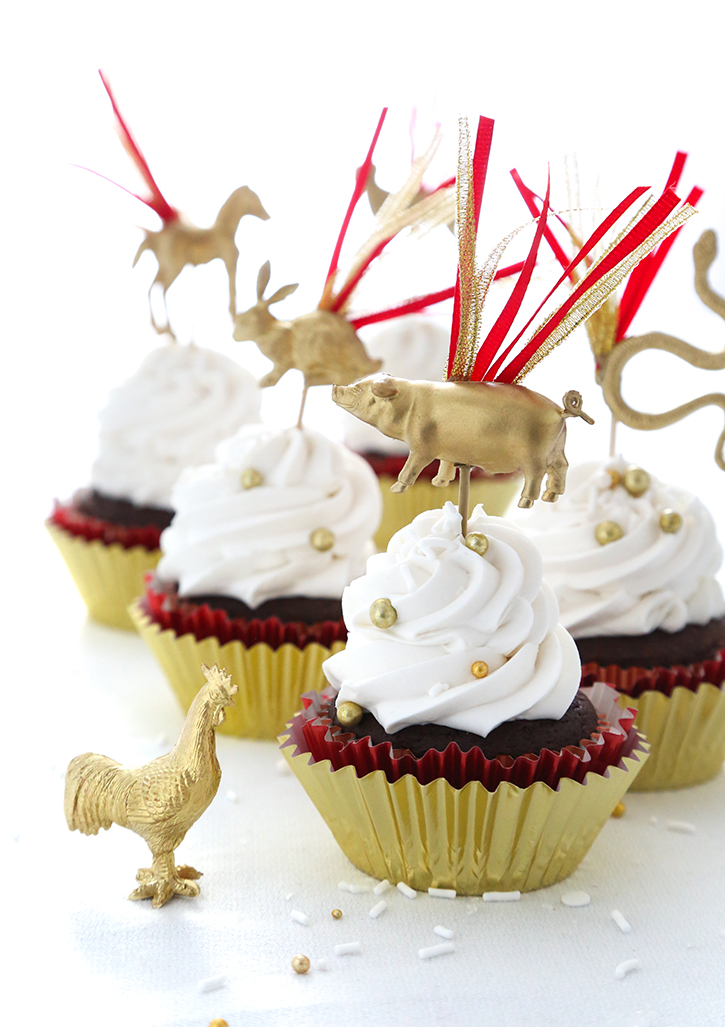 DIY Chinese New Year Cupcake Picks