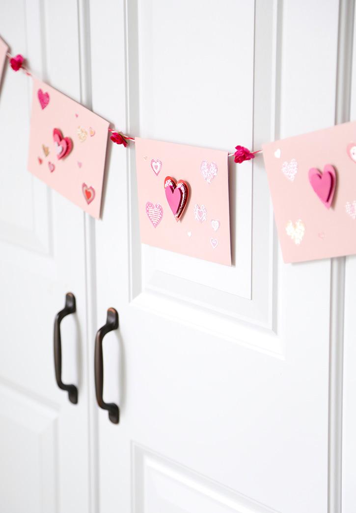 Valentine Love Letter Garland
