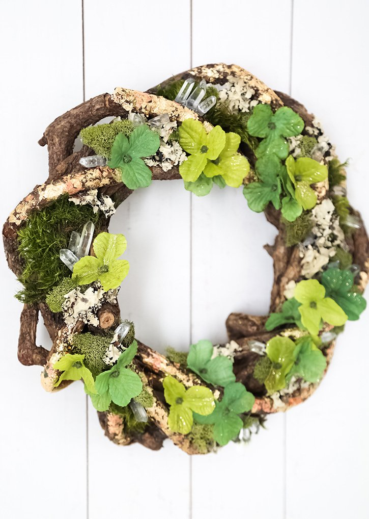 Make a Magical St. Patrick's Day Wreath