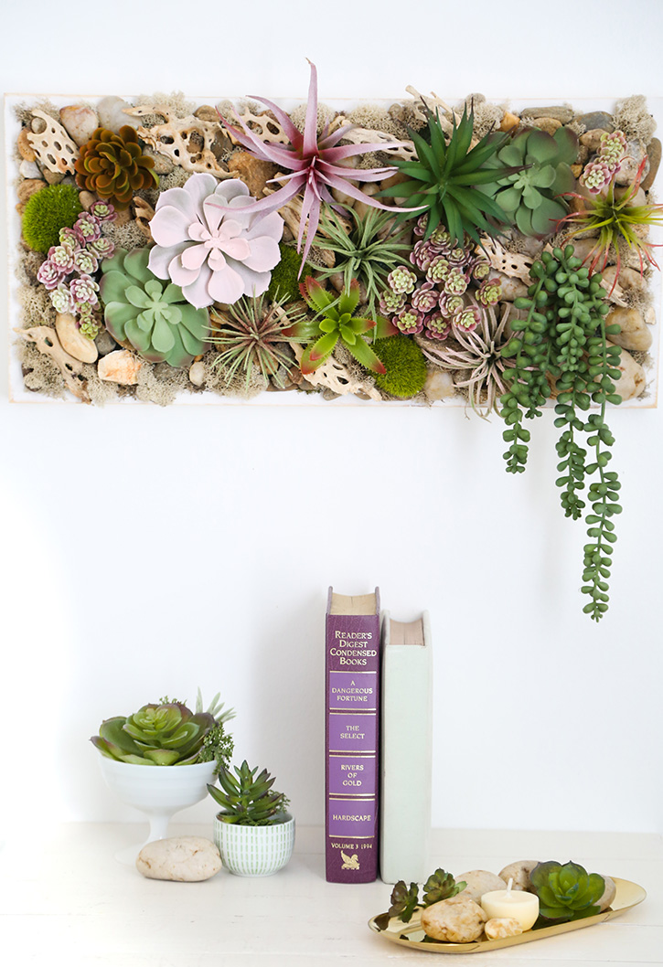Succulent Wall Hanging Tray
