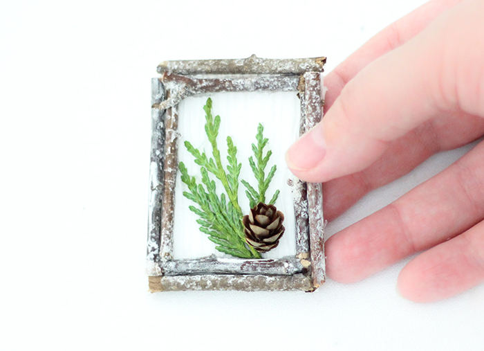 Winter Forest Pin (Or Ornament!)