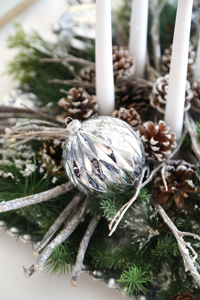 Winter Solstice Centerpiece