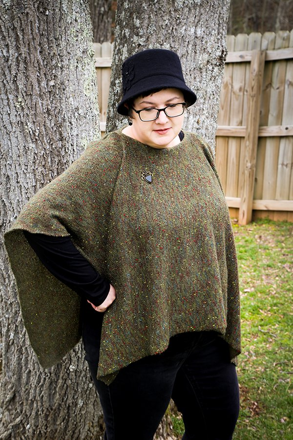 DIY Cozy Winter Poncho