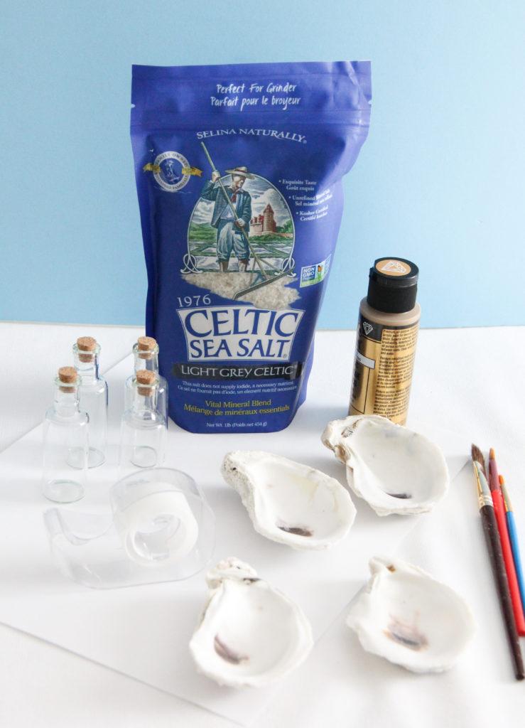 Oyster Shell Salt Cellars